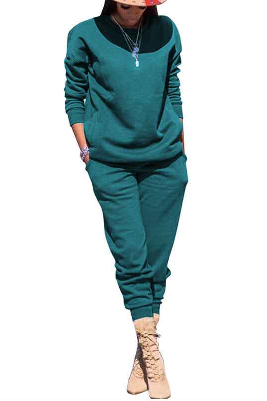 MB Fashion Solid GREEN 2 PCs Set 5064