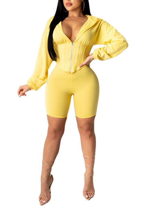 MB Fashion YELLOW 2 PCs Set 6965