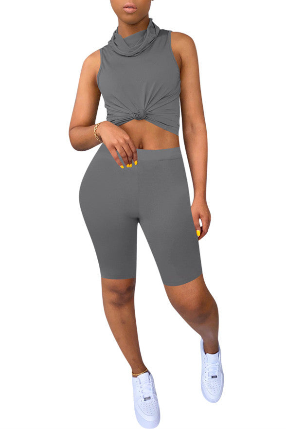 MB Fashion GRAY 2 PCs Set 4018