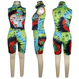 MB Fashion MULTI GREEN 2 PCs Set 4019 Multi 4