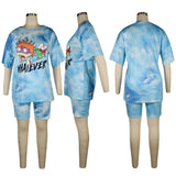 MB Fashion LIGHT BLUE 2 PCs Set 4013 Multi 4