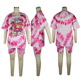 MB Fashion PINK WHITE 2 PCs Set 4013 Multi 8