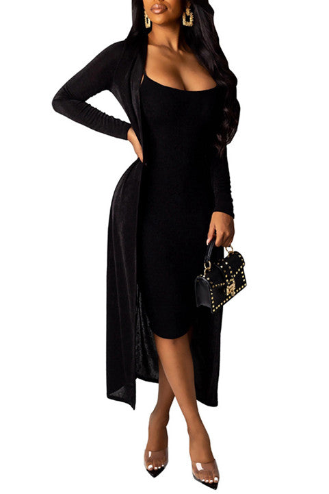 MB Fashion BLACK 2 PCs Set 3742