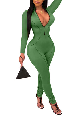 MB Fashion GREEN Jumpsuit 3376