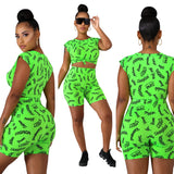 MB Fashion GREEN 2 PCs Set 1791