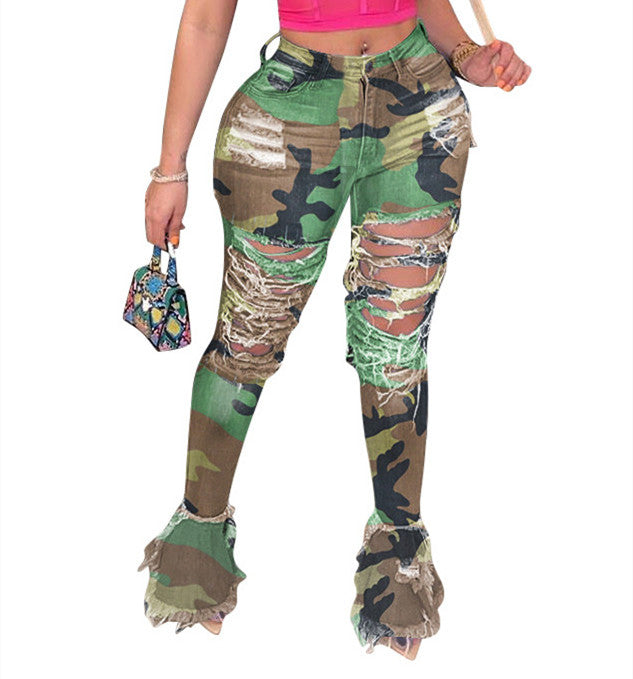 MB Fashion Camouflage Pants 8707
