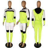 MB Fashion NEON GREEN 2 PCs Set 728