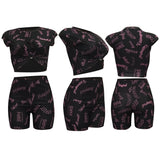 MB Fashion BLACK 2 PCs Set 1791