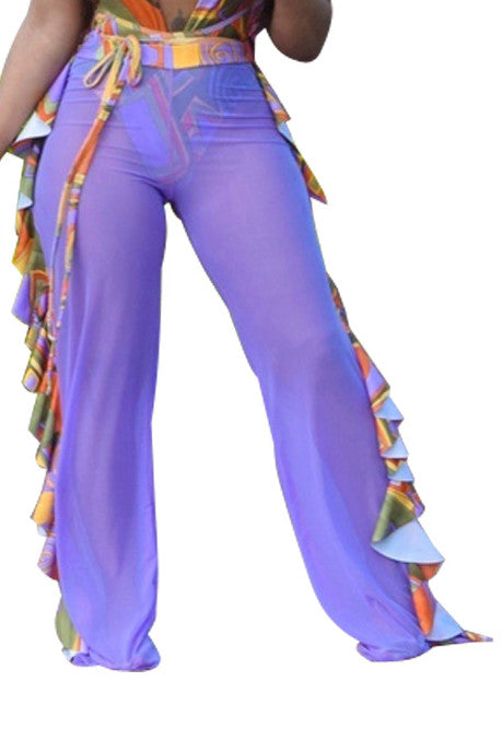 MB Fashion PURPLE Pants 1615