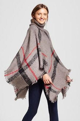 MB Fashion Women's Batwing 3 67 Poncho ONE SIZE