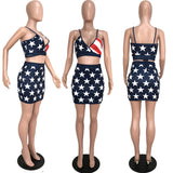 MB Fashion AMERICA FLAG 2 PCs Set 6192