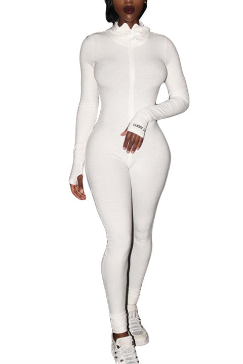 MB Fashion WHITE Jumpsuit 5515