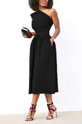 MB fashion Black Dress mb 4128