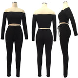 MB Fashion BLACK 2 PCs Set 3307