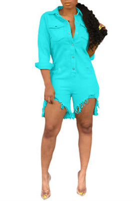 Copy of MB Fashion TURQUOISE Jumpsuit 1534