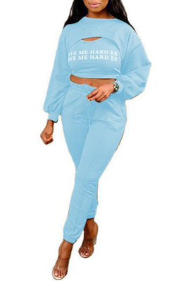 MB Fashion L-BLUE 2 PCs Set 11837