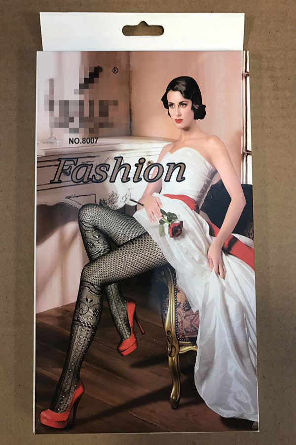 Pantyhose Fashion Lady's Stocking / 6 Pcs /Pack