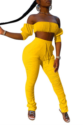 MB Fashion YELLOW 2 PCs Set 9069