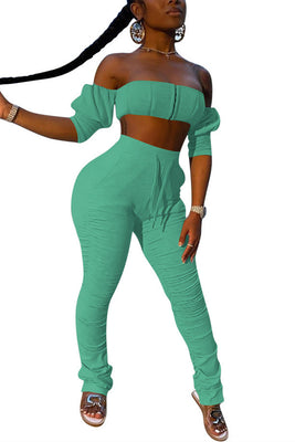 MB Fashion GREEN 2 PCs Set 9069