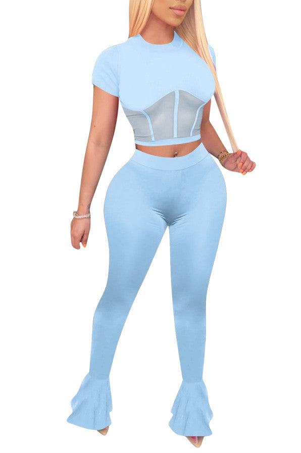 MB Fashion LIGHT BLUE 2 PCs Set 4026