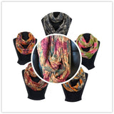 Art Print Infinity scarf / Assorted pack AAth 912 ( 12 pcs)