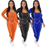 MB Fashion ORANGE 2 PCs Set 5002