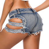 MB Fashion BLUE Shorts 6826