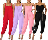 MB Fashion PINK Jumpsuit 8379