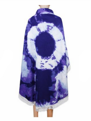 MB Fashion Multi Purple Blue Beach Towel 6