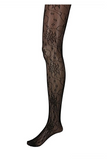 Pattern Net Lace Black Pantyhose / 6 Pcs /Pack
