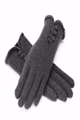MB Fashion Winter 3 Button Gloves 55007