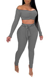 MB Fashion GRAY 2 PCs Set 8104