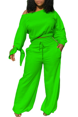 MB Fashion GREEN 2 PCs Set 12157 Not Heavy Material