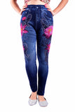 MB Fashion Print Jean Leggings 238