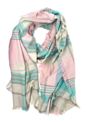 MB Fashion PINK Big Scarf