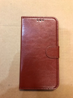 MB Fashion iPhone 11 BROWN Wallet Case