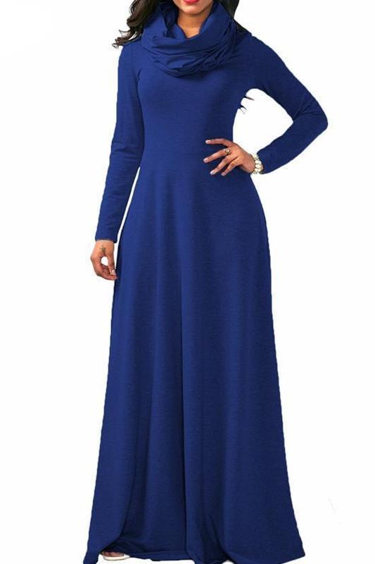 MB fashion Blue Dress Outfit mb 3294