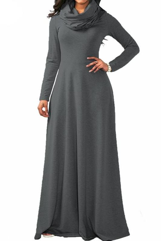 MB fashion D Gray Dress Outfit mb 3294