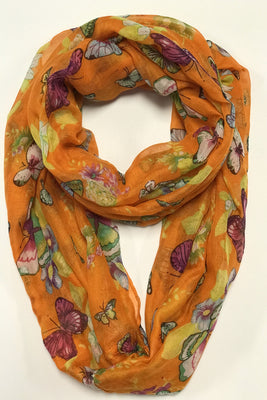 Nabi Print Infinity Scarf AAXY 561 / Assorted pack ( 6 pcs)