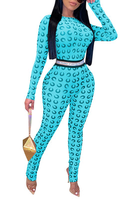 MB Fashion L-BLUE Jumpsuits 9834