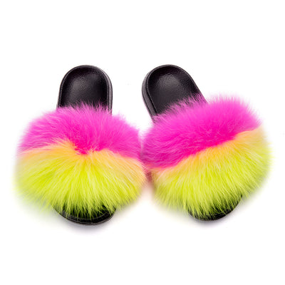 MB Fashion Color 52 Fur Sandals