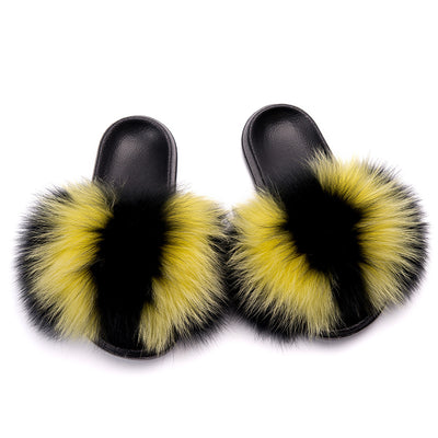 MB Fashion Color 59 Fur Sandals