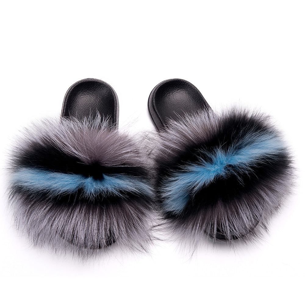 MB Fashion Color 62 Fur Sandals
