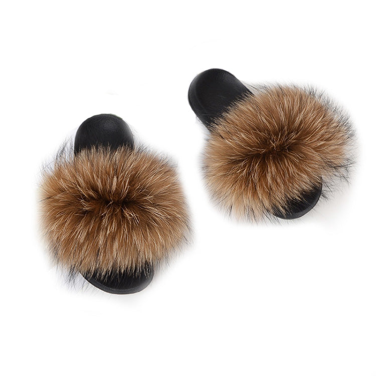 MB Fashion Color 73 Fur Sandals