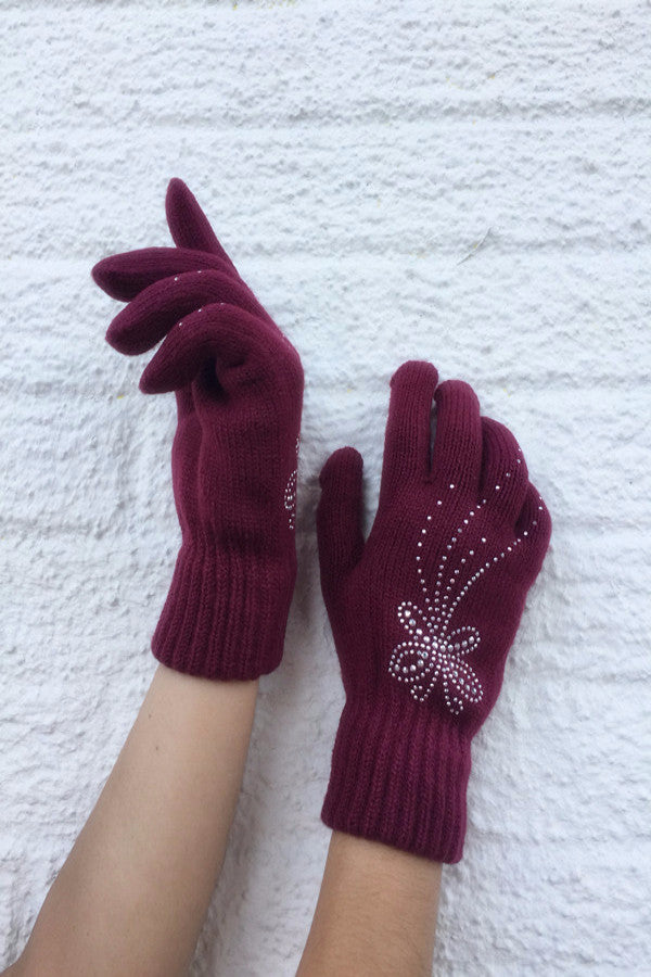 MB Fashion GL 55025 Fashion Winter Gloves / Assorted Colors / 12 PCS