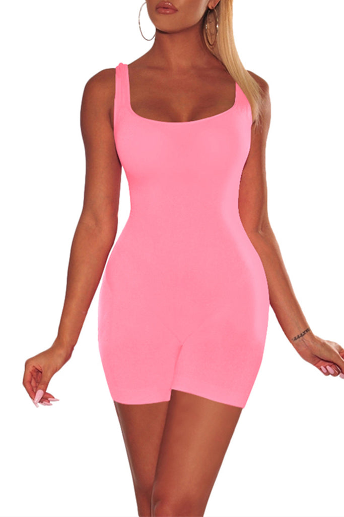 MB Fashion PINK Skinny Rompers 416