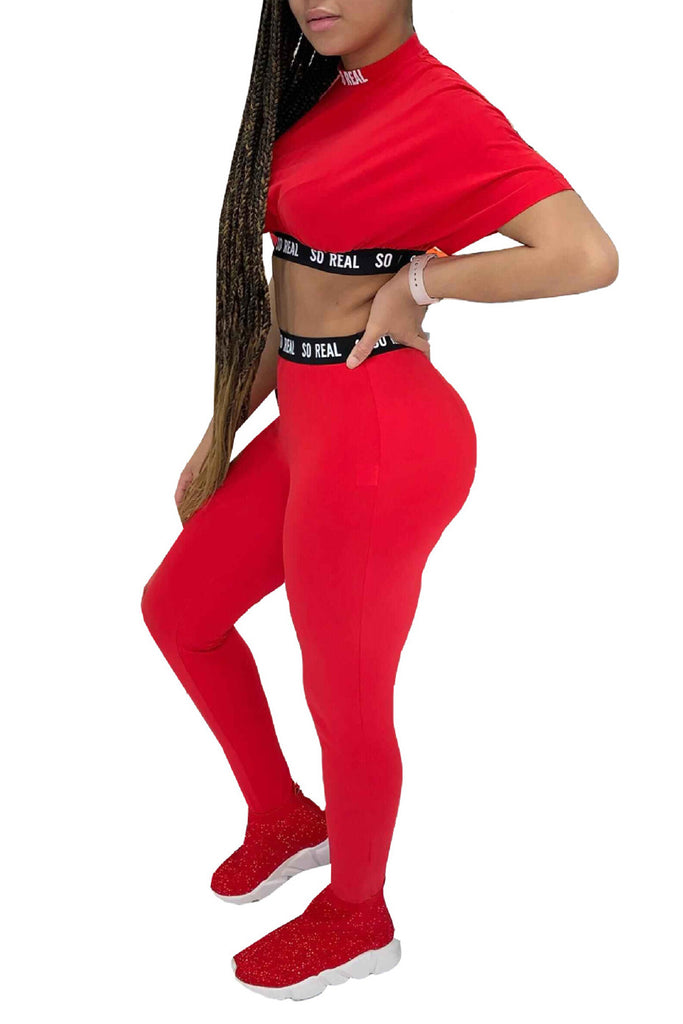 MB Fashion RED 2 PCs Set 9392
