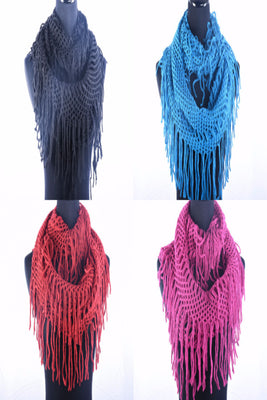 AAS 5231 Infinity Scarf / 12 PCS / Assorted Colors