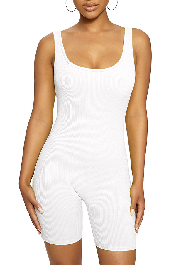 MB Fashion WHITE Jumpsuit 416-2