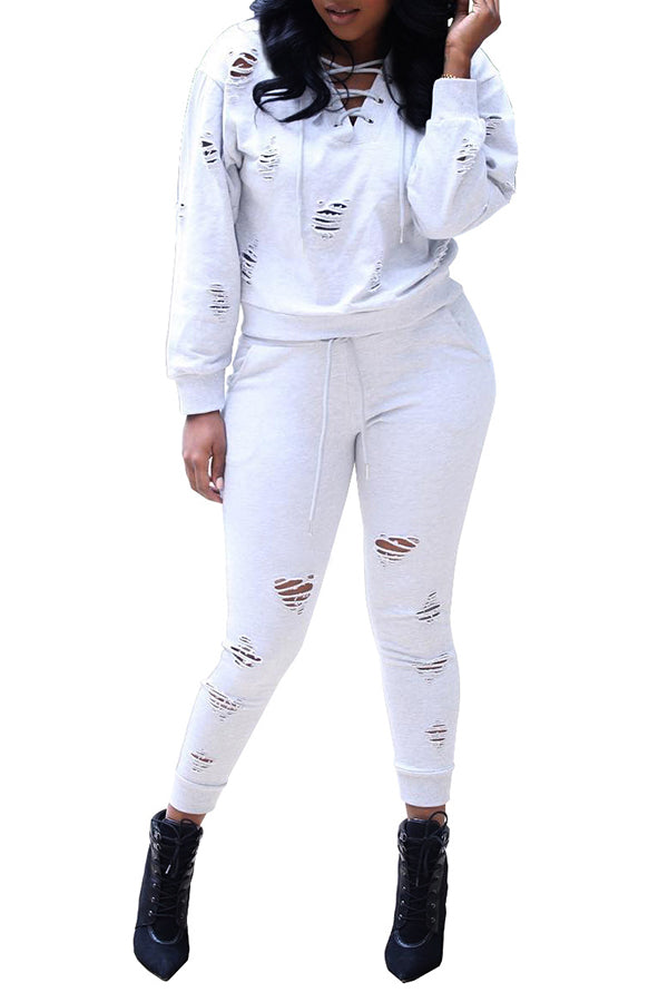MB Fashion WHITE 2 PCs Set 8106
